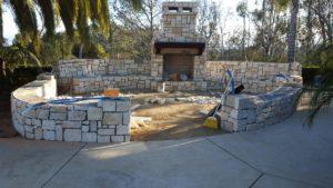 fire place build